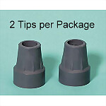 Cane & Walker Tips (2/Pack)