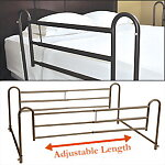 Adjustable Home Bed Rails