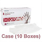 Vinyl Powdered Exam Gloves (Case) - Small