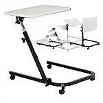 Pivot Tilttop Overbed Table, U-BASE