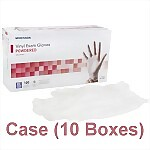 Vinyl Powdered Exam Gloves (Case) - Extra Large