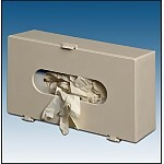Plastic Glove Box Holder, Putty