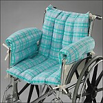 Designer Comfy-Seat for Wheelchair