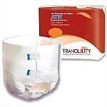 Tranquility® ATN™ (All-Through-the-Night) Disposable Briefs, MEDIUM, 96/Case