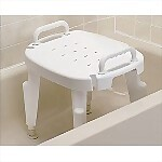 Deluxe Bath Bench with Arms
