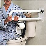 Toilet Roll Holder for P.T. Rail�