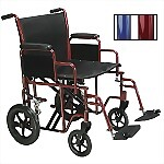 Bariatric Heavy Duty Steel Transport Chair