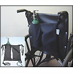 Mini Oxygen Tank Holder for Wheelchairs