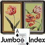 Congress® Tulips Jumbo Bridge Playing Cards