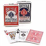 Bicycle� Pinochle Jumbo Index Cards