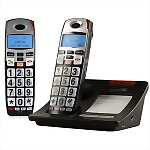 Serene Innovations CL-60 DECT 6.0 Amplified Phone with Expansion Handset
