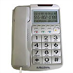Big Button Speakerphone with Braille & Caller ID