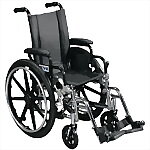 "Viper Deluxe Wheelchair with 12"" or 14"" wide seat"