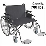 "26"", 28"", or 30"" Sentra EC Heavy Duty Extra Extra Wide Wheelchair"