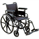 "20"" or 22"" Viper Plus GT Deluxe Wheelchair  with Elevating Legrest or Swing Away Footrest"