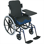Flip-Up Half Lap Wheelchair Tray