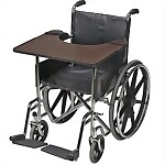 Hardwood Wheelchair Tray