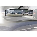 "12"" Panoramic Clip-On Rearview Mirror"