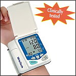 Blood Pressure Monitor with Flip Up Cover