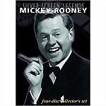 Silver Screen Legends: Mickey Rooney - 4 DVD Set