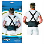 Back Support Brace wtih Suspenders