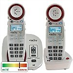 Clarity� Professional XLC3.4� Amplified Cordless Telephone with ClarityLogic and Extra Handset