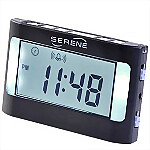 Serene Innovations� VA3 Vibrating Travel Alarm Clock