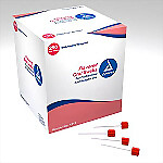 Dynarex Flavored Foam Oral Swabs Treated w/Dentrafice, 250/Box