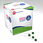Dynarex Untreated Foam Oral Swabs, 250/Box