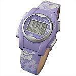 VibraLITE� MINI Vibrating Watch, PURPLE FLOWERS