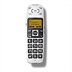 Clearsounds� A400E Amplified Talking Cordless Phone Extension Handset