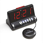 ClearSounds SW200 ShakeUp to WakeUp Vibrating Alarm Clock