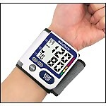 WrisTec Blood Pressure Monitor with X-Large LCD Screen