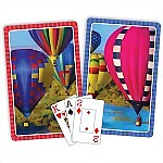 Springbok� Hot Air Balloons Bridge Jumbo Index Playing Cards