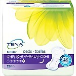 Tena® Serenity® Overnight Bladder Control Pad, 16 Inch Length, Heavy Absorbency, 84/Case