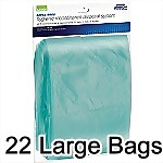 Large Refill Bags for Incontinence Disposal System, 22/package