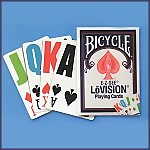 Bicycle�  E-Z See Lo Vision Playing Cards