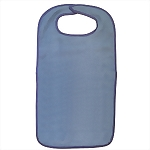 Powder Blue Adult Bib