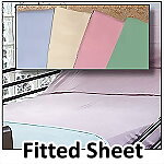 Pastel Fitted Hospital Sheet
