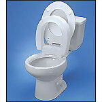 "3"" Hinged Elevated Toilet Seat"