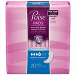 Poise® Pads - Extra Absorbancy - 6 Bags