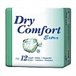 Dry Comfort� Extra Briefs - Small - 12/bag