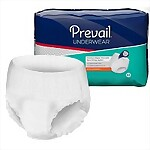 Prevail® Extra Absorbency Underwear, LARGE, 72/Case