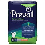 Prevail� Extra Absorbency Belted Undergarments (Shields), 120/Case