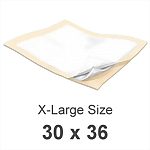 MaxiCare� X-Large Underpads - 50/Case