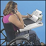 Laptop Wheelchair Desk