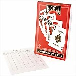 Bicycle® Jumbo Score Pad