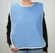 100% Cotton Terry Cloth Adult Bib with Vinyl Barrier