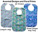 Floral and Printed Bibs for Women and Ladies