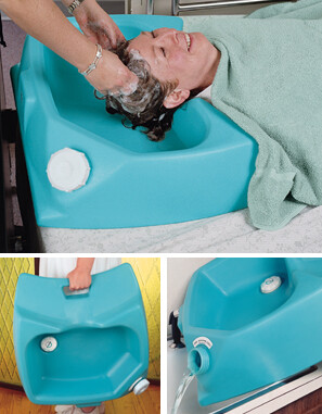 bed wash tray